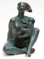Dan-Robert (Robert, Daniel b. 1946) Maternite royale, 2000