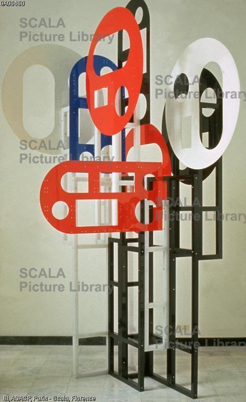 Schoeffer, Nicolas (1912-1992) Lux 14 - S.E.C. (Sculpture a Elements Combinables), 1973
