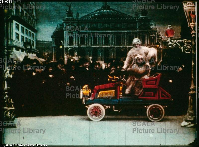 Melies, Georges (1861-1938) Raid Paris Monte Carlo en deux heures en automobile, 1905