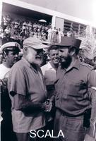 Korda (Diaz Gutierrez Alberto, 1928-2001) Hemingway y Fidel, 1960.
