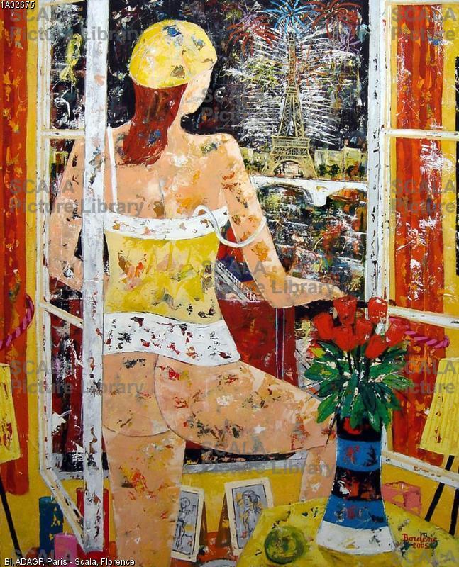 Borderie, Jean-Pierre (1952-) Le feu d'artifice, 2005.