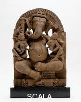 ******** Ganesha with His Consorts