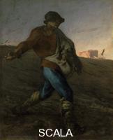 Millet, Jean Francois (1814-1875) Il seminatore