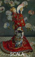 Monet, Claude (1840-1926) La Japonaise (Camille Monet in Japanese Costume)