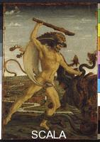 Pollaiuolo, Antonio (1433-1498) Hercules and the Hydra