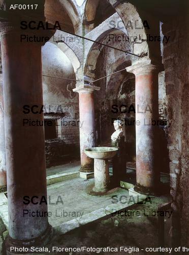 Arte romana Veduta del vestibolo