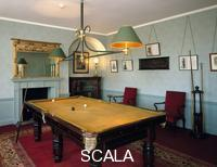 ******** Billiard room at Down House, Downe, Greater London