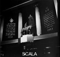 Rawlings, Stanley W. (20th cent.) A public monument celebrating the coronation of Elizabeth II, (c1953-c1965?).