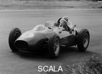 ******** Mike Hawthorn in the Dutch Grand Prix, Zandvoort, 1958.