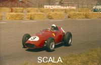 ******** Phil Hill in action in a Ferrari, Dutch Grand Prix, Zandvoort, 1959.