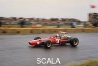 ******** Chris Amon in a Ferrari V12, Dutch Grand Prix, Zandvoort, 1968.