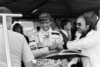 ******** Niki Lauda, F1 driver for Marlboro McLaren, at the European Grand Prix, Brands Hatch, Kent, 1983.