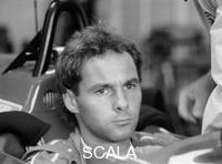 ******** Gehard Berger with Ferrari, 1988.