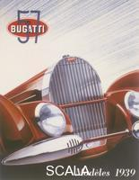 ******** Poster advertising Bugatti cars, 1939.