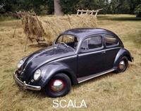 ******** A 1953 Volkswagen Export Type I Beetle.