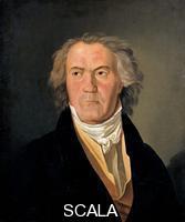 Waldmueller, Ferdinand Georg (1793-1865) Portrait Ludwig van Beethoven, 1823