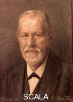 Frank, H. (20th cent.) Portrait of Sigmund Freud, 1935
