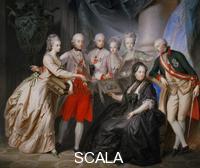 Fueger, Heinrich Friederich (1751-1818) Empress Maria Theresia of Austria with her children, 1776