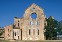 ******** View of the back of the abbey